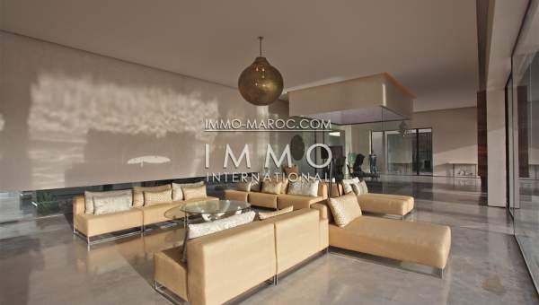Vente maison Moderne haut de gamme Marrakech Palmeraie