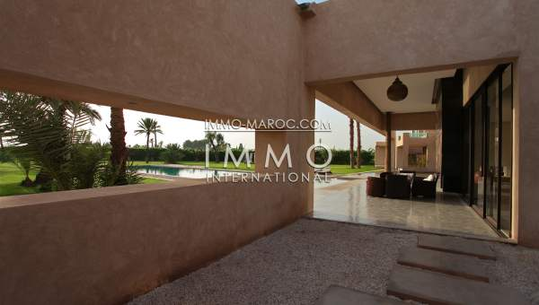 Achat villa Contemporain luxe Marrakech Palmeraie