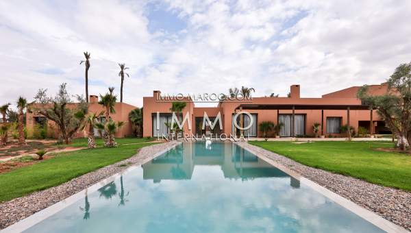 vente Villa de luxe  Contemporaine Marrakech