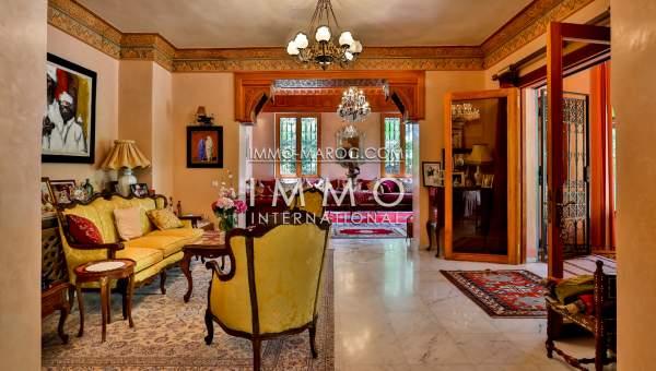 Maison à vendre Marocain haut de gamme Marrakech Palmeraie