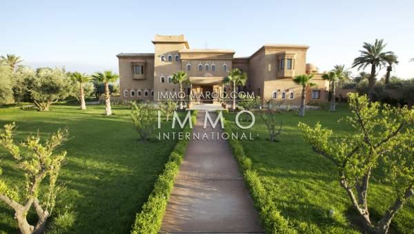 Maison à vendre Marocain épuré luxe Marrakech