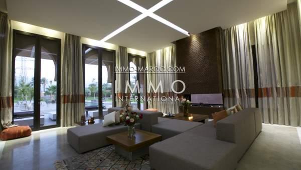 Vente villa Marocain épuré haut de gamme Marrakech