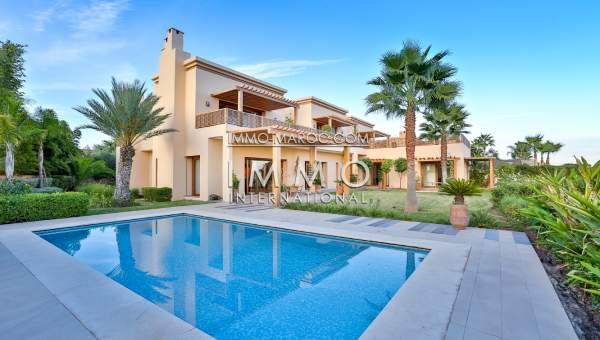 Achat villa Marocain épuré Marrakech Golfs Amelkis