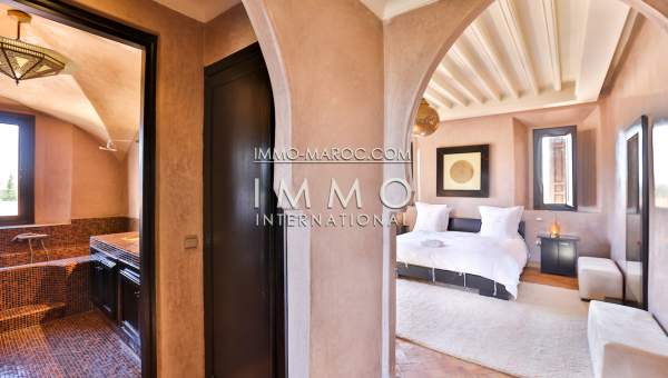 Villa à vendre Marocain épuré de prestige Marrakech Palmeraie