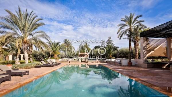 Villa à vendre Marocain épuré biens de prestige marrakech Marrakech Palmeraie