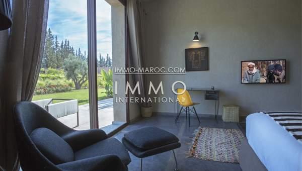 Vente villa Moderne agence immobiliere de luxe marrakech Marrakech Extérieur Route Ouarzazate