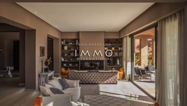 Achat villa Contemporain biens de prestige Marrakech Golfs Amelkis