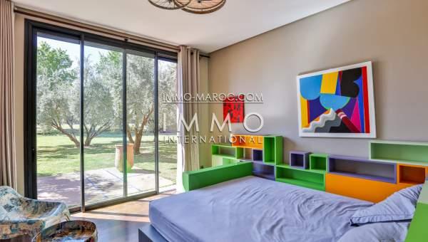 Vente maison Contemporain immobilier de luxe marrakech Marrakech Extérieur Route Ourika
