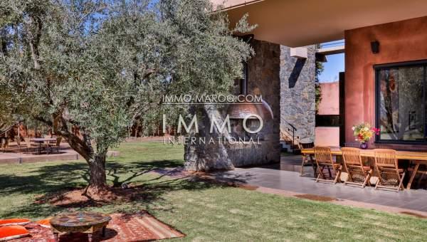 Vente maison Contemporain luxe Marrakech Extérieur Route Ourika