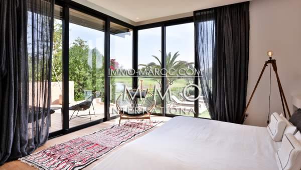 villa vente Moderne haut de gamme Marrakech Golfs