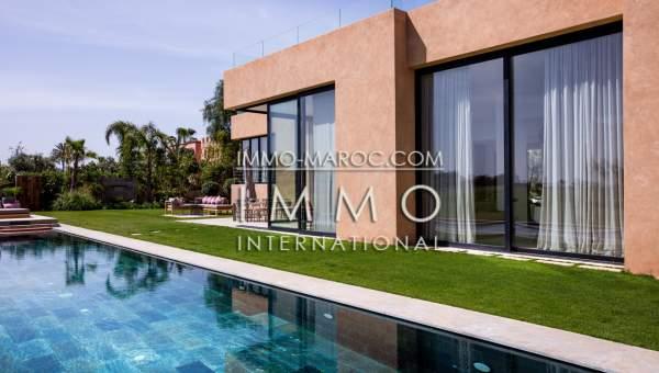 Vente villa Moderne propriete luxe marrakech à vendre Marrakech Golfs