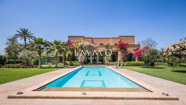 Vente villa prestige Marrakech Extérieur Route Amizmiz