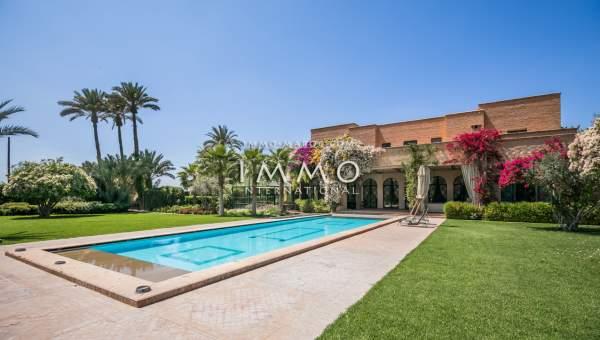 villa achat Marrakech Extérieur Route Amizmiz