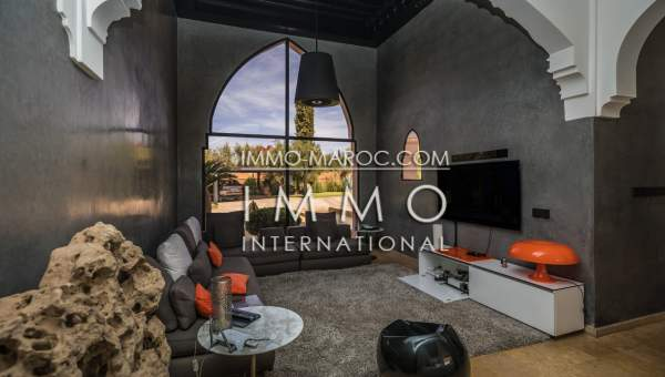 acheter maison Marocain épuré luxe Marrakech Extérieur Route Fes