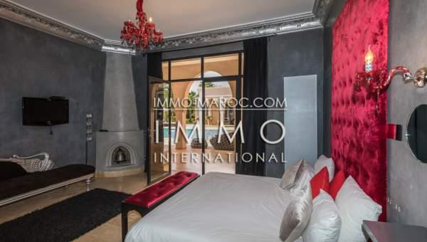 Villa à vendre Marocain épuré prestige a vendre Marrakech Extérieur Route Fes