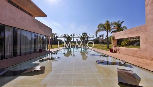 Villa à vendre Moderne Prestige Marrakech Palmeraie
