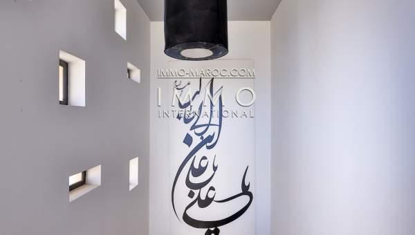 Vente villa Moderne luxe Marrakech Palmeraie
