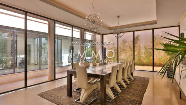 Vente villa Moderne Prestige Marrakech Palmeraie