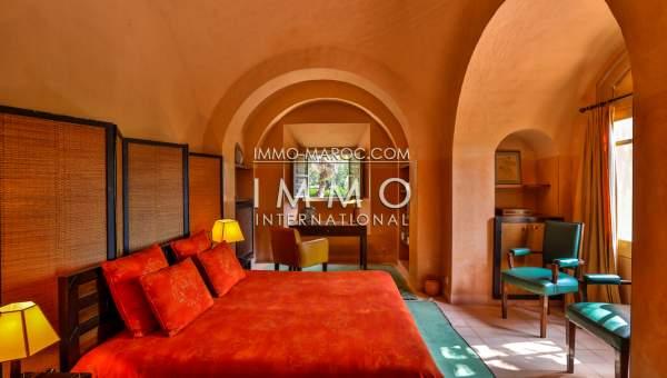 Maison à vendre Marocain épuré luxe Marrakech Palmeraie Circuit Palmeraie