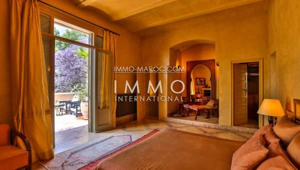 acheter maison Marocain épuré biens de prestige Marrakech Palmeraie Circuit Palmeraie