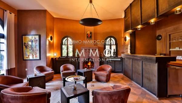 vente villa maison d hotes palmeraie luxe