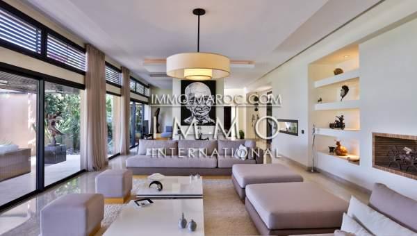 villa achat Moderne luxe Marrakech Golfs Al Maaden
