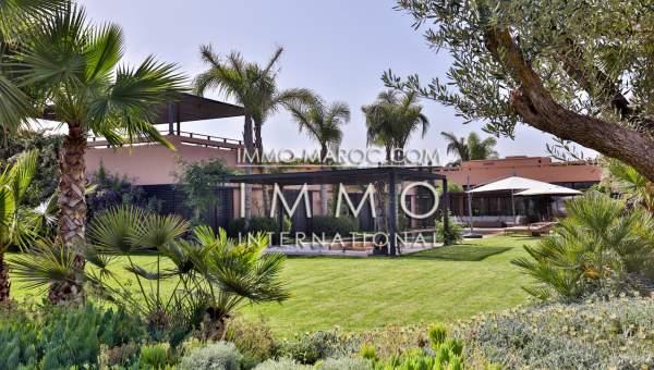 Vente maison Contemporain propriete luxe marrakech à vendre Marrakech Golfs Al Maaden