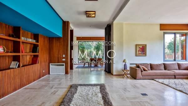 Achat villa Moderne luxe Marrakech Extérieur Route Barrage