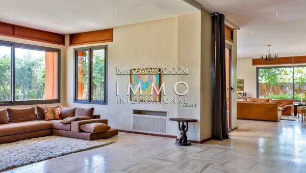 Vente maison Moderne Prestige Marrakech Extérieur Route Barrage
