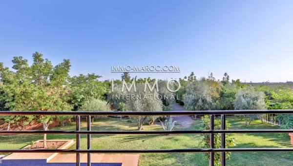 Vente villa Moderne haut de gamme Marrakech Extérieur Route Barrage
