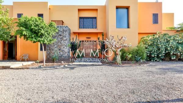 Vente maison Contemporain luxe Marrakech Extérieur Route Barrage