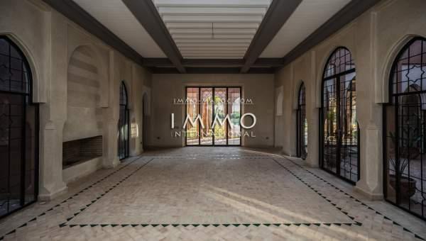 Vente maison Marocain luxueuses Marrakech