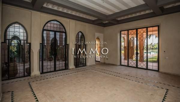 villa vente Marocain propriete luxe marrakech à vendre Marrakech