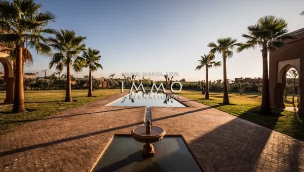 acheter maison Marocain haut de gamme Marrakech