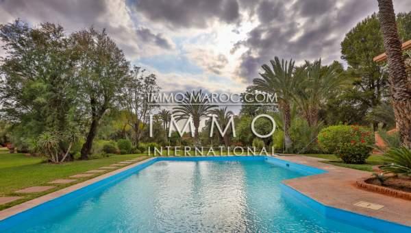 acheter maison Marocain épuré luxueuses Marrakech Palmeraie Palmariva – Dar tounsi