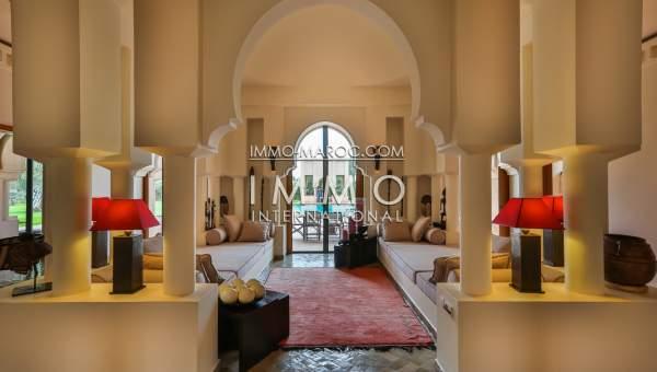 Vente villa Marocain Prestige Marrakech Palmeraie