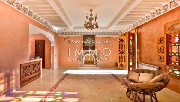 Vente villa Marocain prestige a vendre Marrakech Golfs Amelkis