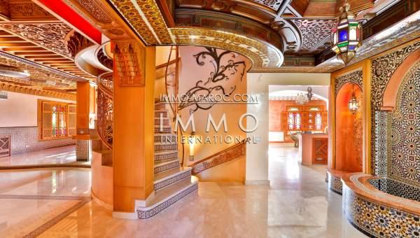 Maison à vendre Marocain biens de prestige marrakech Marrakech Golfs Amelkis