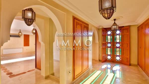 Vente villa Marocain agence immobiliere de luxe marrakech Marrakech Golfs Amelkis