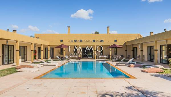 villa vente Moderne luxe Marrakech Extérieur Route Ouarzazate