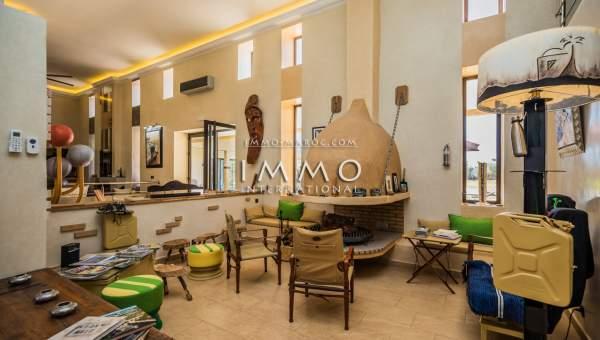 Vente maison Moderne biens de prestige Marrakech Extérieur Route Ouarzazate