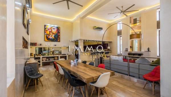 Maison à vendre Contemporain haut de gamme Marrakech Extérieur Route Ouarzazate