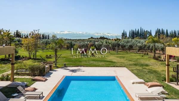 acheter maison Contemporain haut de gamme Marrakech Extérieur Route Ouarzazate