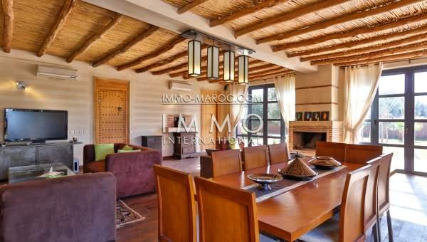 villa vente Contemporain prestige Marrakech Extérieur Route Fes