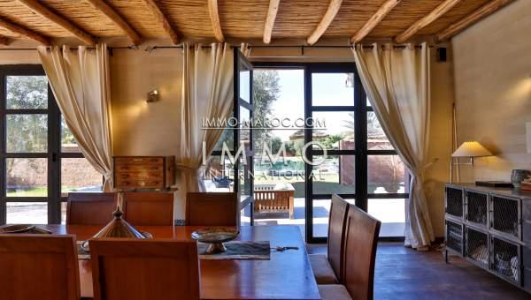 Achat villa Moderne luxueuses Marrakech Extérieur Route Fes