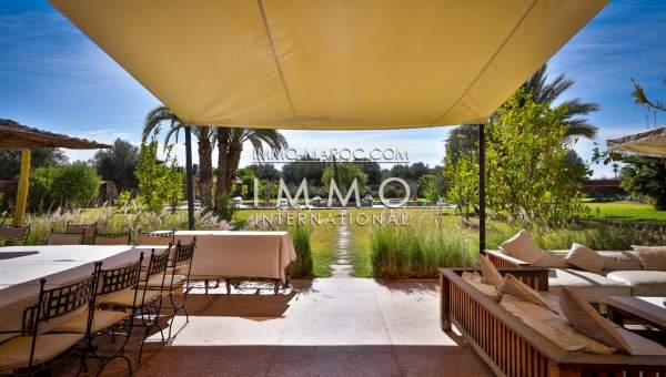 Achat villa Contemporain Prestige Marrakech Extérieur Route Fes