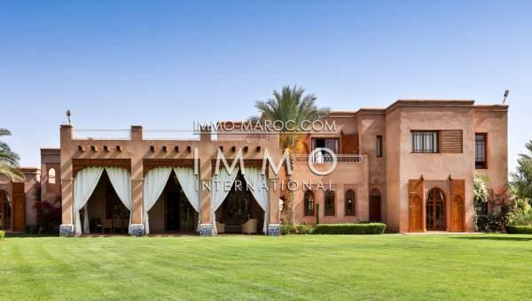 Maison à vendre Contemporain de prestige Marrakech Extérieur Route Sidi Abdellah Ghiat