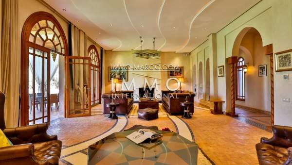 Vente maison Contemporain agence immobiliere de luxe marrakech Marrakech Extérieur Route Sidi Abdellah Ghiat