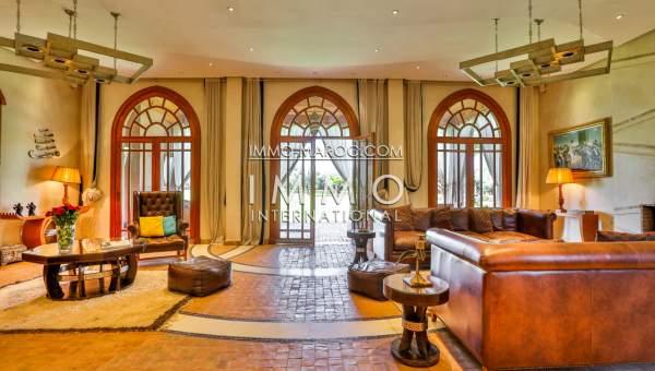 acheter maison Moderne Prestige Marrakech Extérieur Route Sidi Abdellah Ghiat