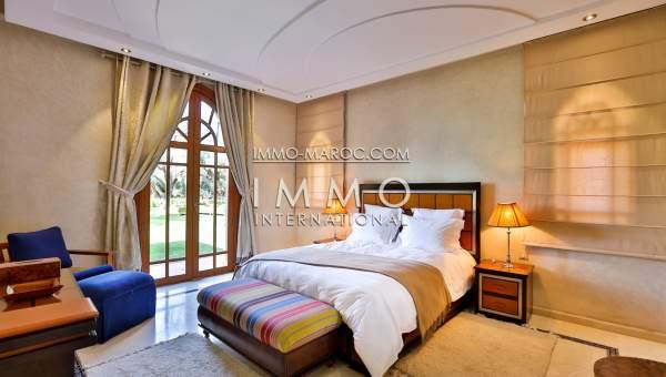 Vente villa Contemporain luxueuses Marrakech Extérieur Route Sidi Abdellah Ghiat